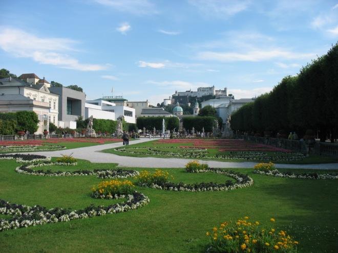 Salzburg, Mirabell Schloss